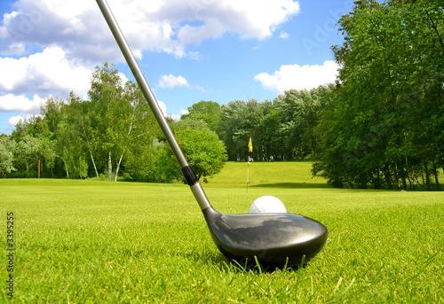 golf sport de balle photo libre de droits sur la banque. Black Bedroom Furniture Sets. Home Design Ideas