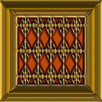 artistic copper plate
