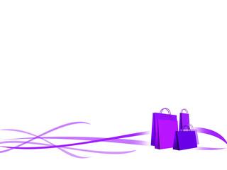 background shopping violet