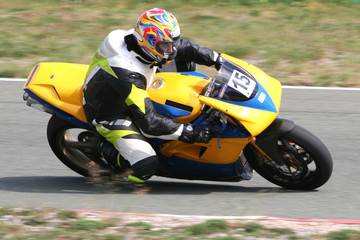 super bike yellow