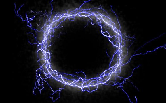 lightning circle