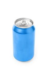 blank soda can