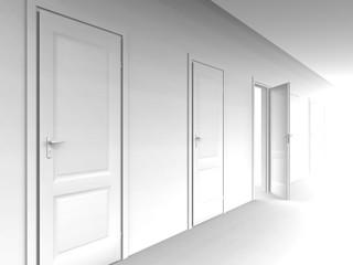 wall and doors