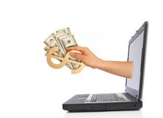 Fototapeta e-business