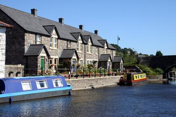 Foto op Plexiglas Kanaal canal boats