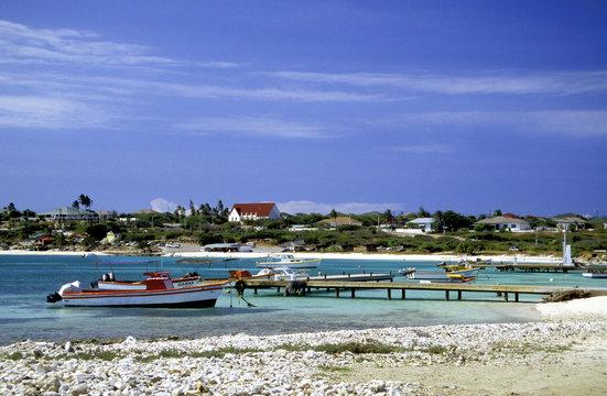 fischerboote nahe baby beach, aruba
