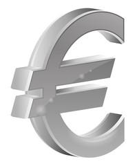 logo euro gris foncé
