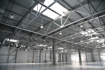 Foto op Aluminium Luchthaven hangar warehouse