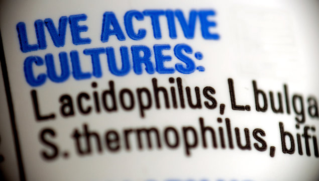 live active cultures - food labeling