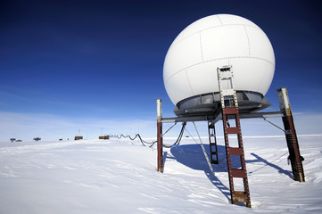 Acrylic Prints Antarctic antarctic research station