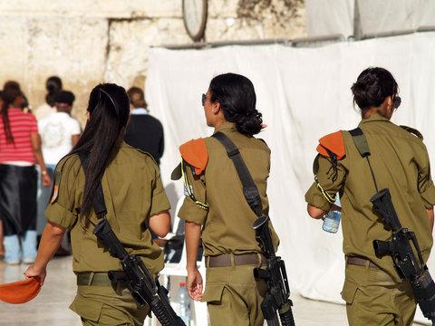 women soldier's of ida