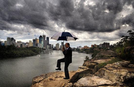 business rain dance