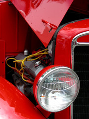 engine in red
