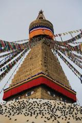 Boudhanath buddhist stupa
