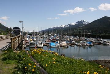 juneau alaska boat harbor
