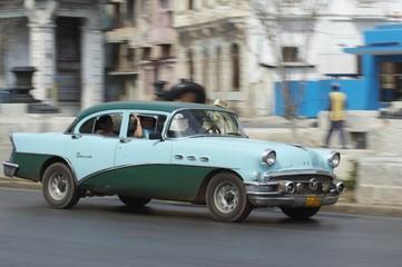 Türaufkleber Autos aus Kuba american classic car