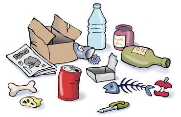 Buscar fotos residuos organicos for Suelo organico dibujo animado