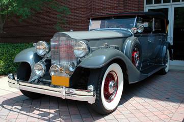 Fond de hotte en verre imprimé Vintage voitures vintage car