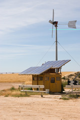 homemade wind and solar energy sources