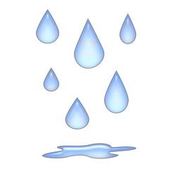 raindrops 3d
