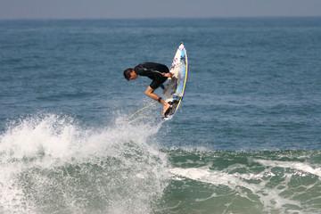 surfer en action