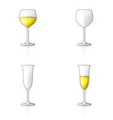 glass icon set 60p