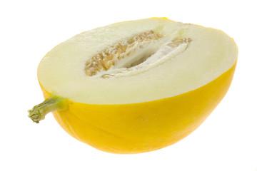 half honey white melon