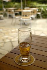 bière en terrasse