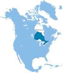 carte de Ontario
