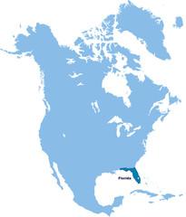 carte de Floride