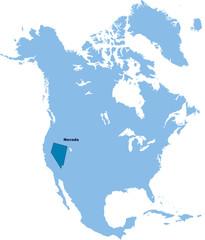 carte du Nevada