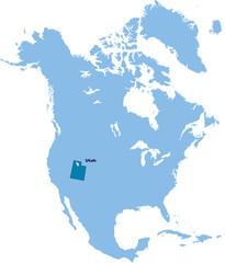 carte Utah
