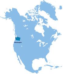 carte de Washington