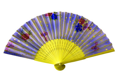 hand fan isolated