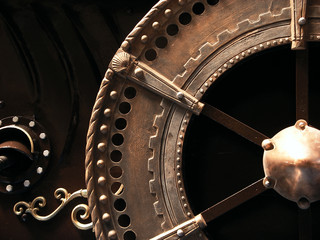 Ornate wheel