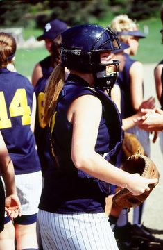 Female baseball team