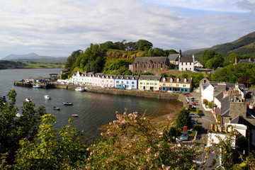 View of Portree Harbour
