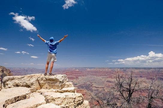 USA. Arizona. Grand Canyon National Park. South Rim. Rim Trail.