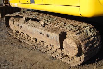 Bulldozer track