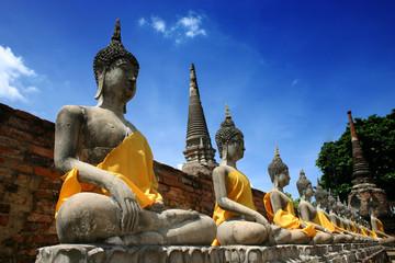 Thai Buddha image from Ayudhaya