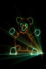 laser nounours
