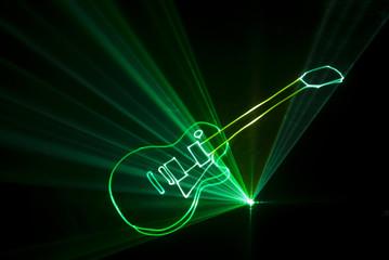laser guitare