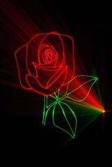 Laser rose