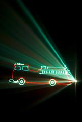 Laser pompier