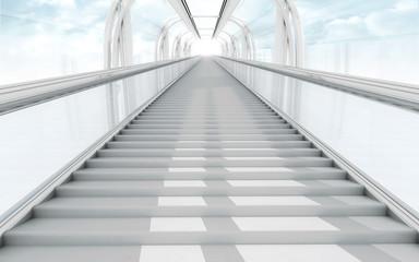 Fototapeten Treppe 3d stairs