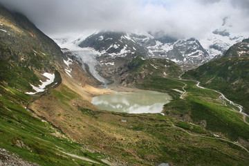 Swiss lake Steinensee