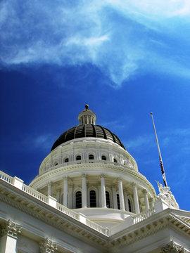 California State Capitol Building, Sacramento CA, daylight