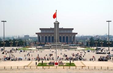 Foto op Plexiglas Beijing Tiananmen Square