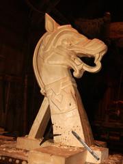 il cavallo del falegname
