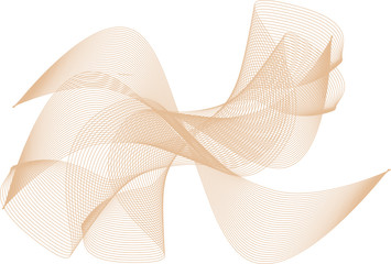 Wellen und Linien Collage